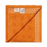 Inner side of Orange Excellence Bath Towels