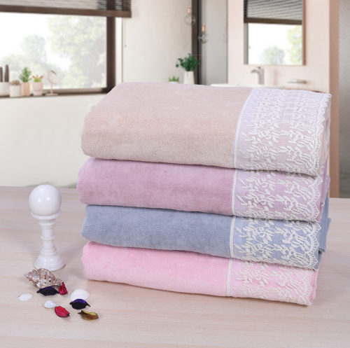 Prima-Dream-Lace-Border-Bath-towels2